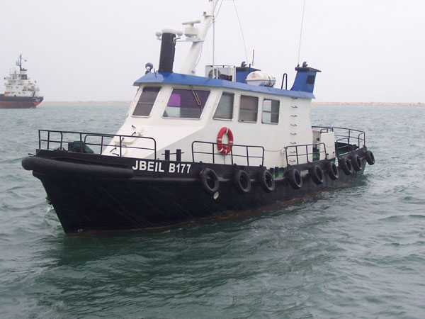 Survey Vessel 'Jbeil': 16.43 m x 4.06 m x 2.04 m; 280 HP